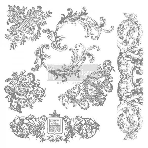 Dekorstempel Chateau de maisons von Redesign