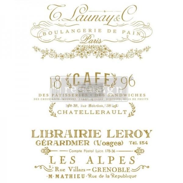 """Transfer """"Somewhere in France"""" 60,96 x 86,36 cm von Redesign"""