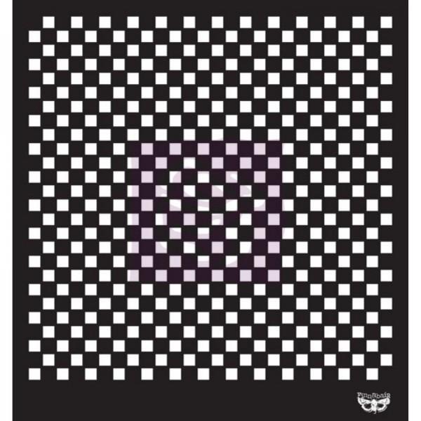 Decor Schablone Checkered ca. 29 x 29 cm Motivgröße von ReDesign