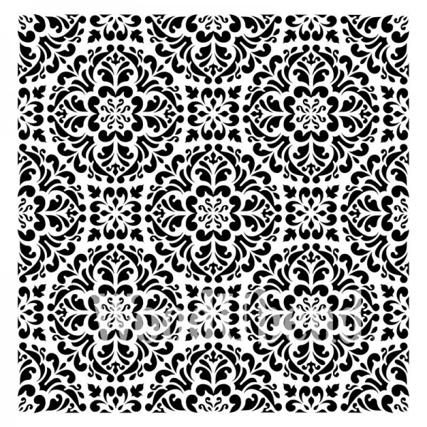 """XL-Schablone """"Kaleidoscope"""" 50 x 50 cm"""