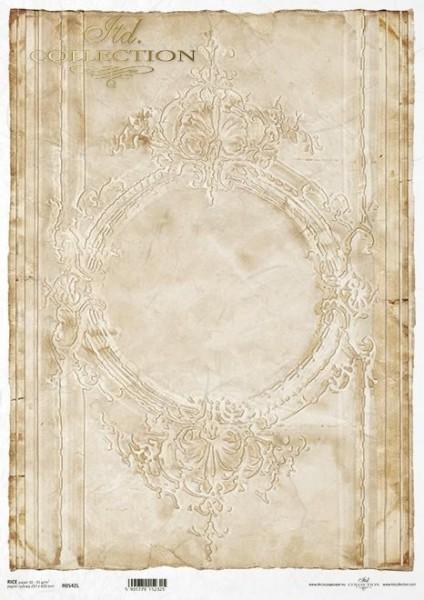 Reispapier für Decoupage - Ornamentik - A3