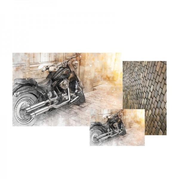 Decoupage Papier Set Joy Ride von Grace on Design