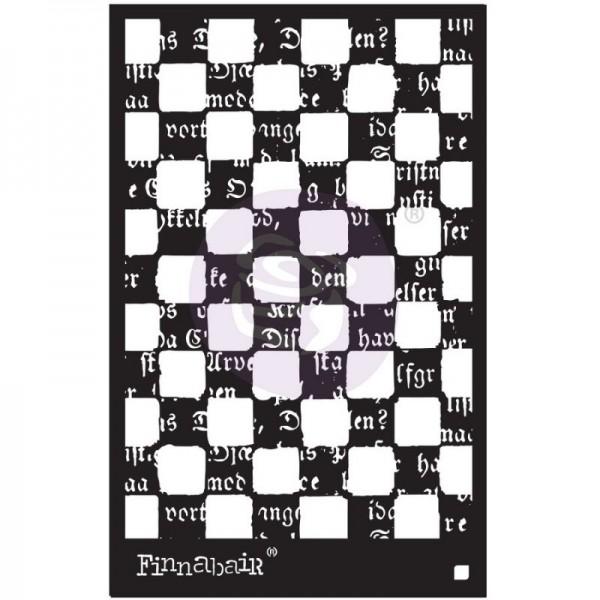 Decor Schablone Mind Games von ReDesign ca. 15 x 22 cm Motivgröße