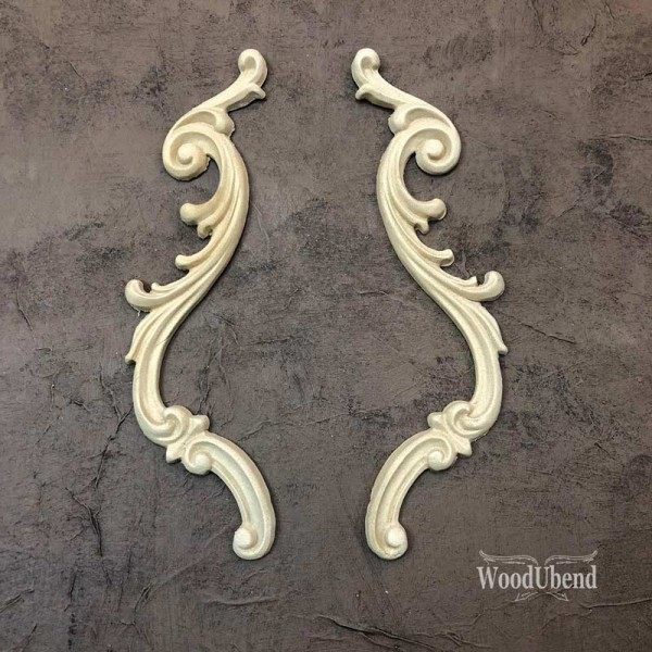 WoodUbend Tropfen 2er Set - Ornament - 25 x 4 cm