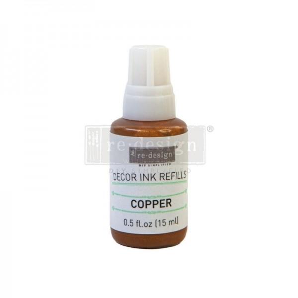 Ink Refiller - Copper/Kupfer - von redesign 15 ml