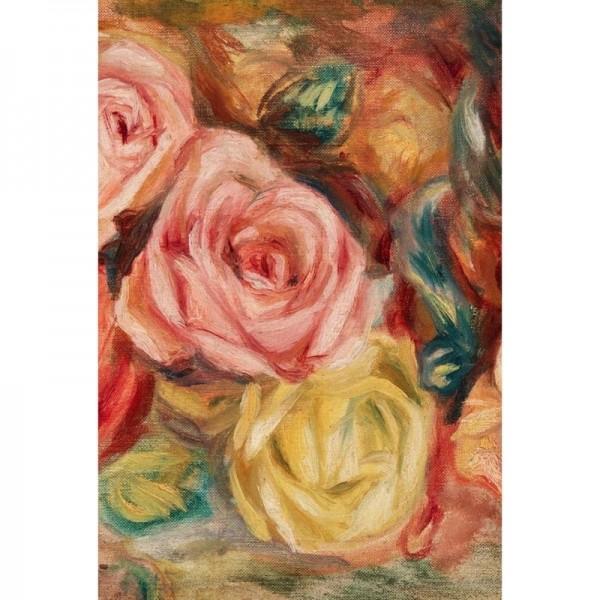 "Decoupage Tissuepapier ""Textured Floral Left"" 50,8 x 76,2 cm von Roycycled Treasure"
