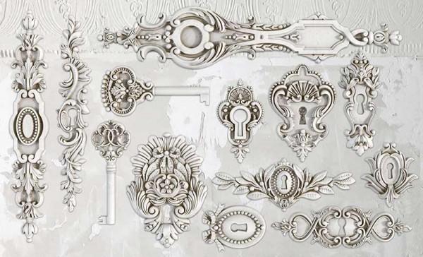 "Decor Form ""Lock & Key"" - Iron Orchid Designs (IOD)"