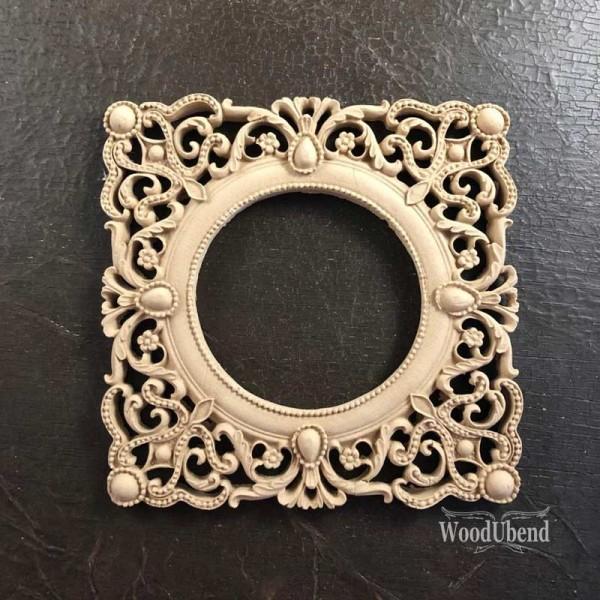 WoodUbend Frame/Rahmen Ornament 16 x 16 cm