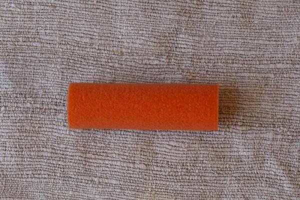 Farbroller orange - klein, 10 cm Schaumstoff - Magic Crater -
