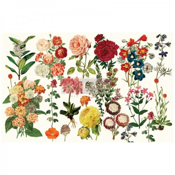 """Decoupage Tissue Papier """"Forest Garden"""" 48,26 x 76,20 cm von Redesign"""