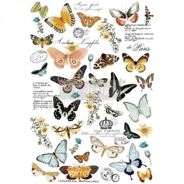 """Transfer """"Butterfly Dance"""" 63,5 x 86,36 cm von Redesign"""