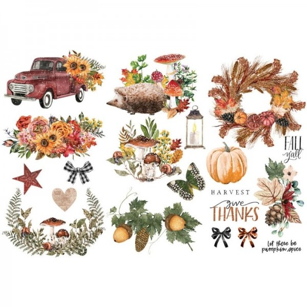Herbstmotive Transfer