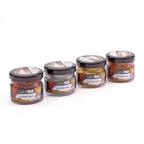 Coosa Crafts Gilding Wax Set- Metall - 005