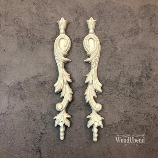 WoodUbend Tropfen 2er Set - Ornament - 23,5 x 3,5
