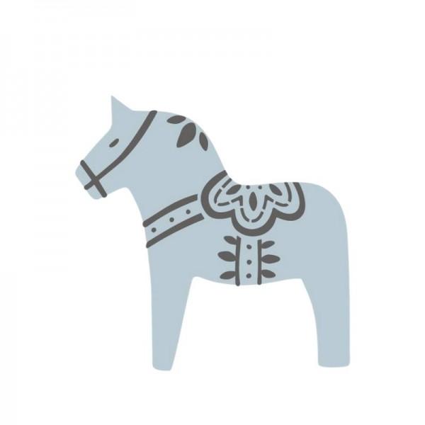 Dala Muses A3 Schablone - Dala Horse