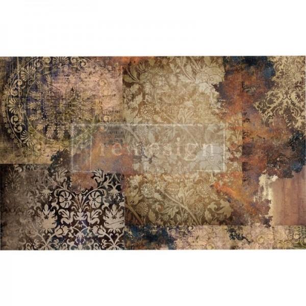 Decoupage Tissue Papier Gothic Rhapsody 48,26 x 76,20 cm von ReDesign