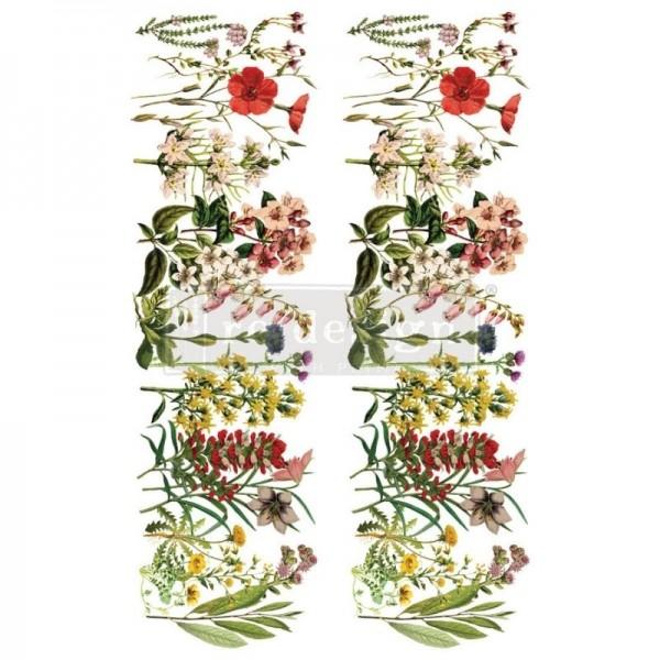 """Transfer """"The Flower Fields"""" 60,96 x 88,9 cm von Redesign"""