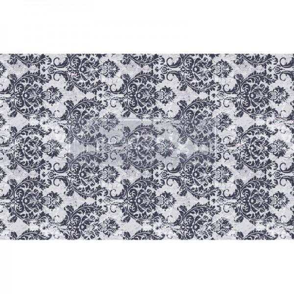 Decoupage Tissue Papier Evening Damask 48,26 x 76,20 cm von ReDesign