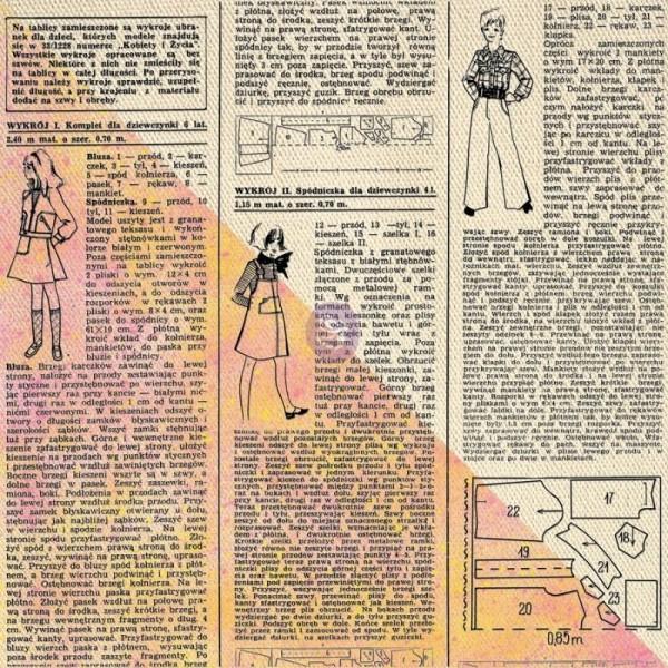 Decoupage Tissue Papier Newsprint 48,26 x 76,20 cm von ReDesign