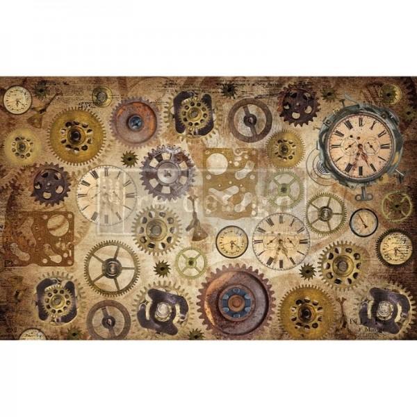 Decoupage Tissue Papier Timeworks 48,26 x 76,20 cm von ReDesign