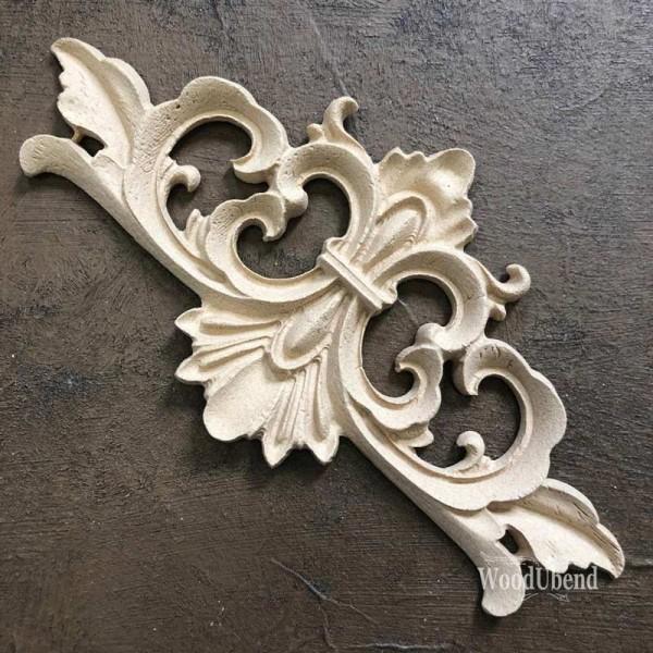 WoodUbend Pediment / Giebel Ornament 15,7 x 7,5 cm