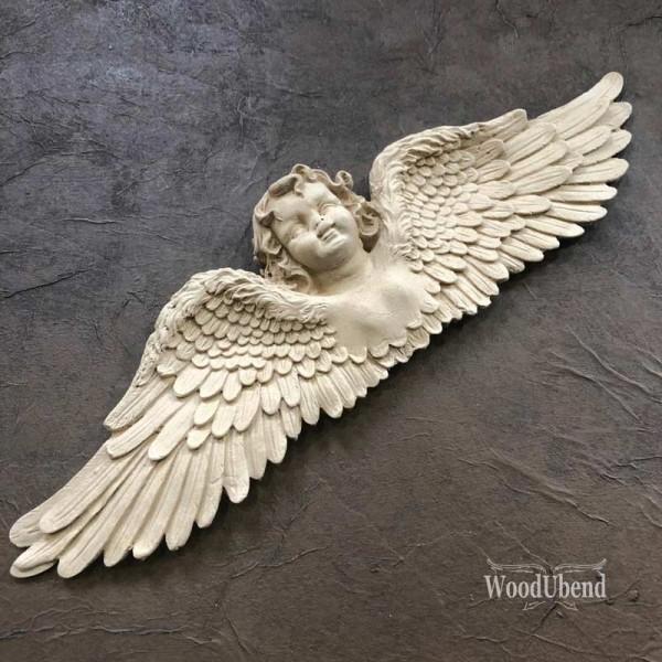 WoodUbend Schutzengel groß 42,5 x 11,5 cm