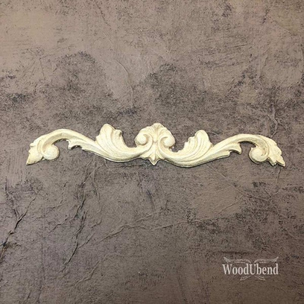 WoodUbend Pediment / Giebel Ornament 16,6 x 2,8 cm