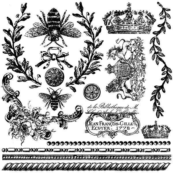 "Decor Stempel ""Queen Bee"" - Iron Orchid Designs (IOD)"