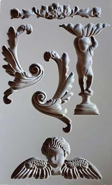 "Decor Form ""Baroque 5"" - Iron Orchid Designs (IOD)"