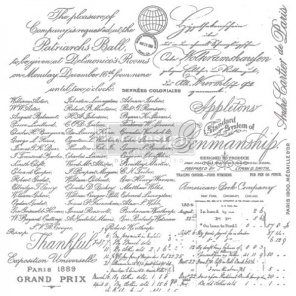 """Decorstempel """"Handwritten Note"""" von Redesign"""