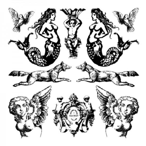 """Decor Stempel """"Fantastico"""" - Iron Orchid Designs"""