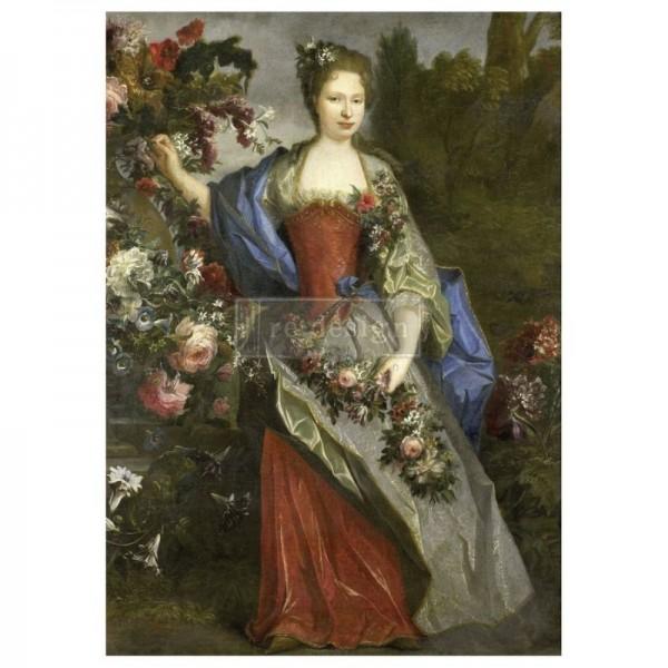 "Mulberry Tissue Papier ""Royal Garden"" A1 59,4 x 84,1 cm"