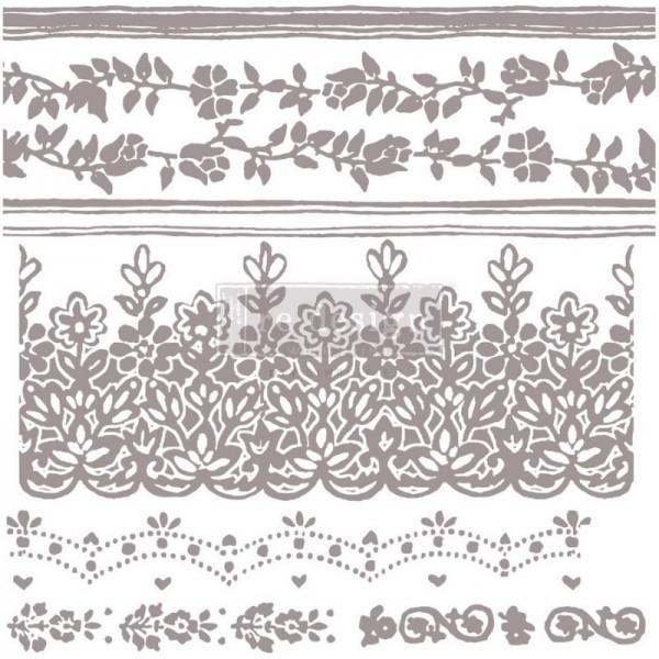 Dekorstempel Floral Borders von ReDesign - 7-teilig