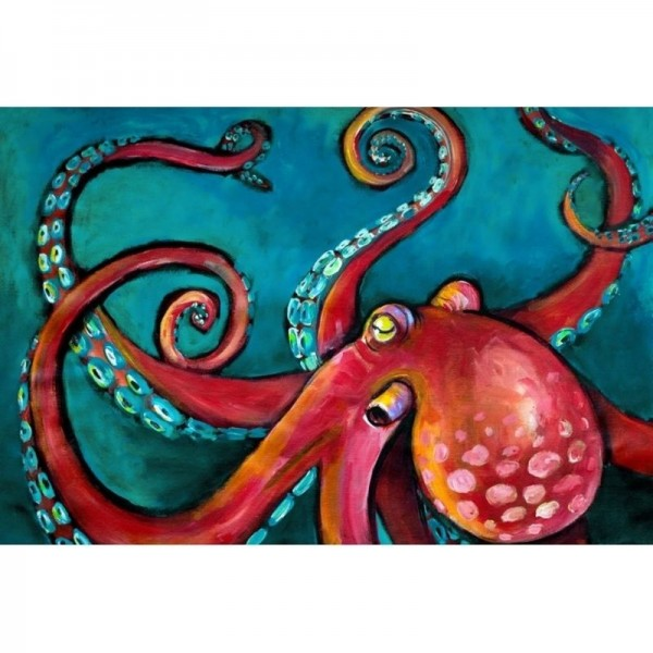 "Decoupage Tissuepapier ""Octopus"" 50,8 x 76,2 cm von Roycycled Treasure"