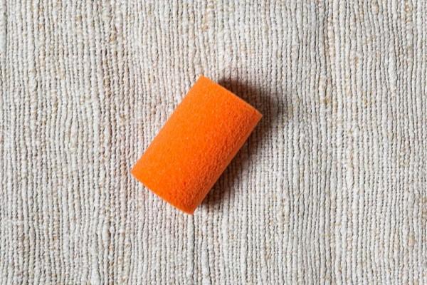 Farbroller orange - klein, 5 cm Schaumstoff - Magic Crater --