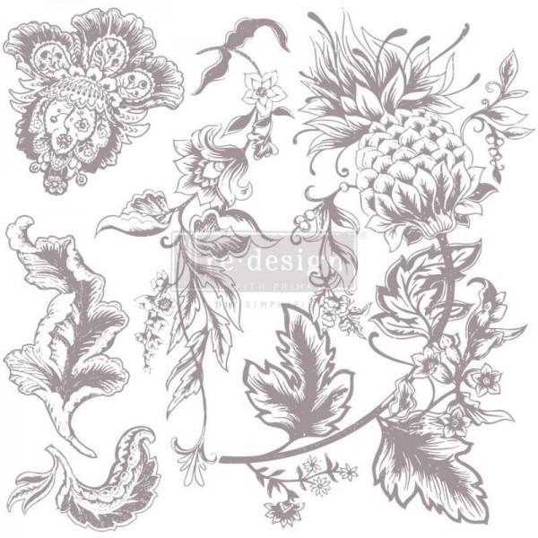 Dekorstempel Rustic Floral Elements von Redesign - 5-teilig