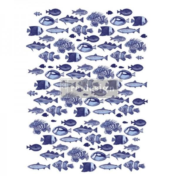 """Transfer """"Saltwater Life"""" 63,5 x 86,36 cm von Redesign"""