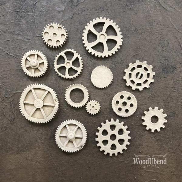 WoodUbend Zahnräder, sortiert