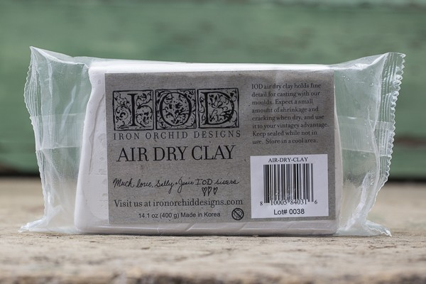 Modelliermasse Air Dry Clay weich - Iron Orchid Designs (IOD)