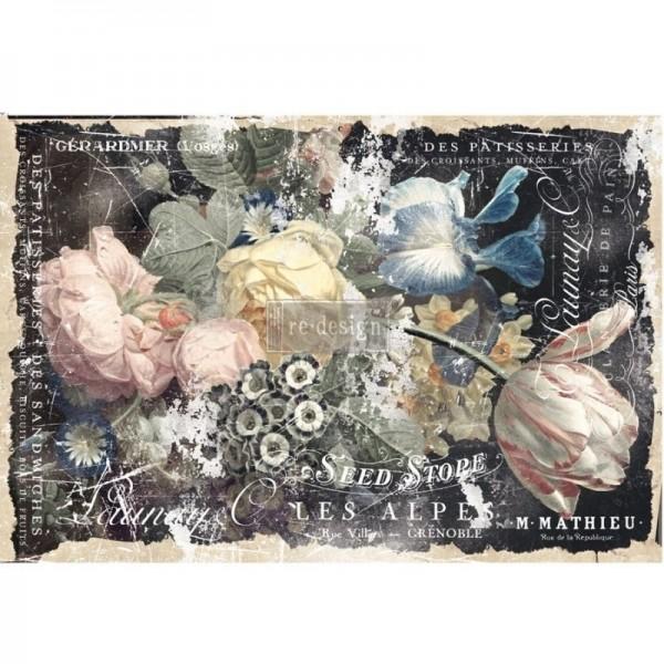 """Decoupage Tissue Papier """"Bridgette"""" 48,26 x 76,20 cm von Redesign"""