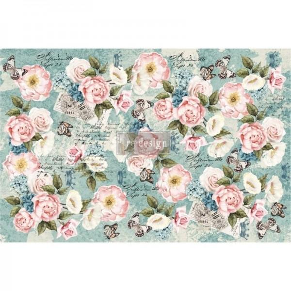 """Decoupage Tissue Papier """"Zola"""" 48,26 x 76,20 cm von Redesign"""