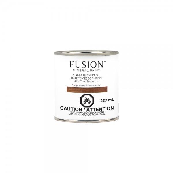 Stain & Finishing Oil von Fusion - Cappuccino - 237 ml