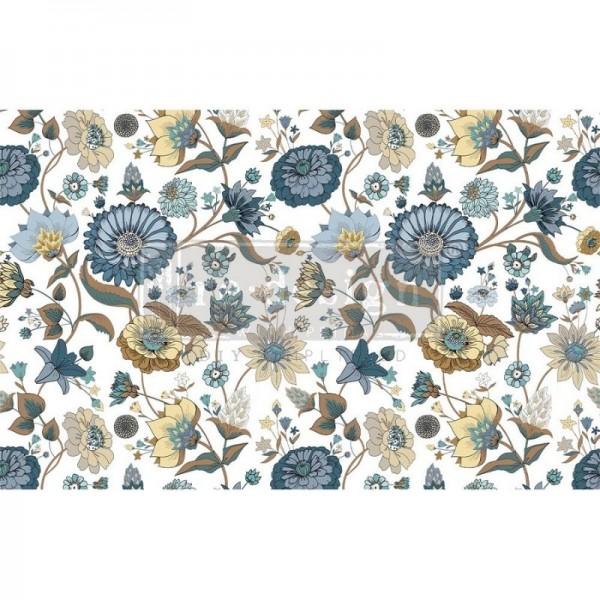 Decoupage Tissue Papier Garden Waltz 48,26 x 76,20 cm von ReDesign