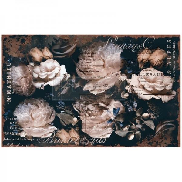 """Decoupage Tissue Papier """"Uniqua"""" 48,26 x 76,20 cm von Redesign"""