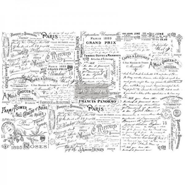 """Decoupage Tissue Papier """"Zoey"""" 48,26 x 76,20 cm von Redesign"""