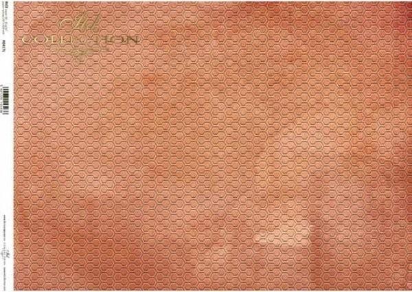 Reispapier für Decoupage - Geometrie - A3